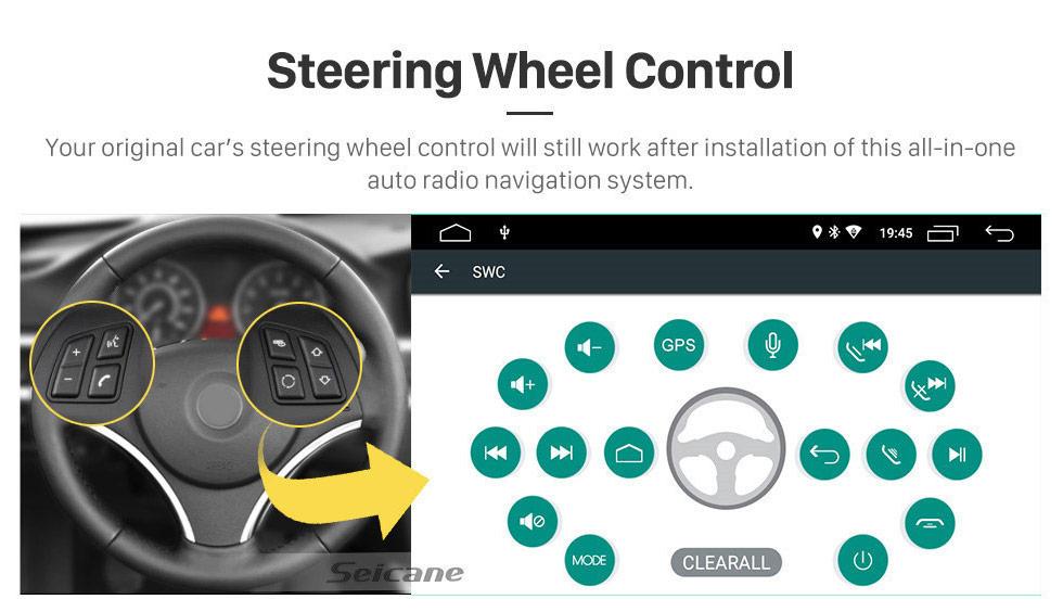 Seicane Tela sensível ao toque HD para 2003 2004 2005-2012 Toyota Corolla E120 BYD F3 Rádio Android 9.0 6.2 6.2 sistema de navegação GPS suporte Bluetooth Carplay OBD2