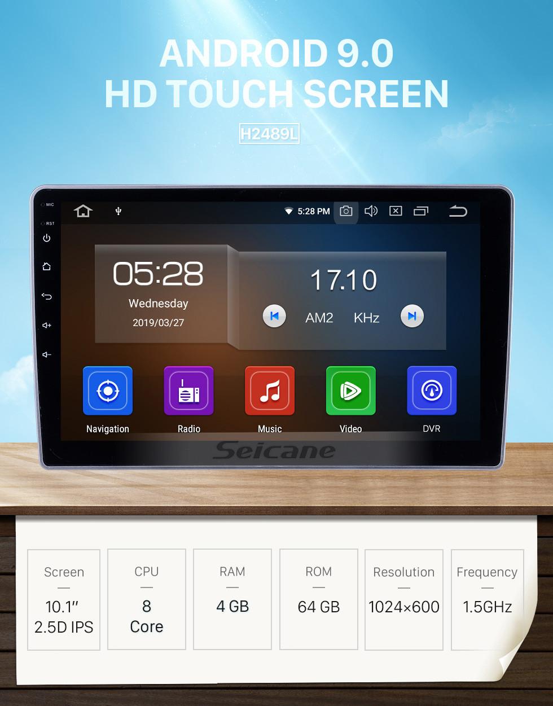Seicane OEM 10.1 polegadas Android 9.0 para 2007 2008 2009-2012 Lifan 520 Rádio Bluetooth HD Touchscreen Sistema de Navegação GPS Suporte Carplay OBD2