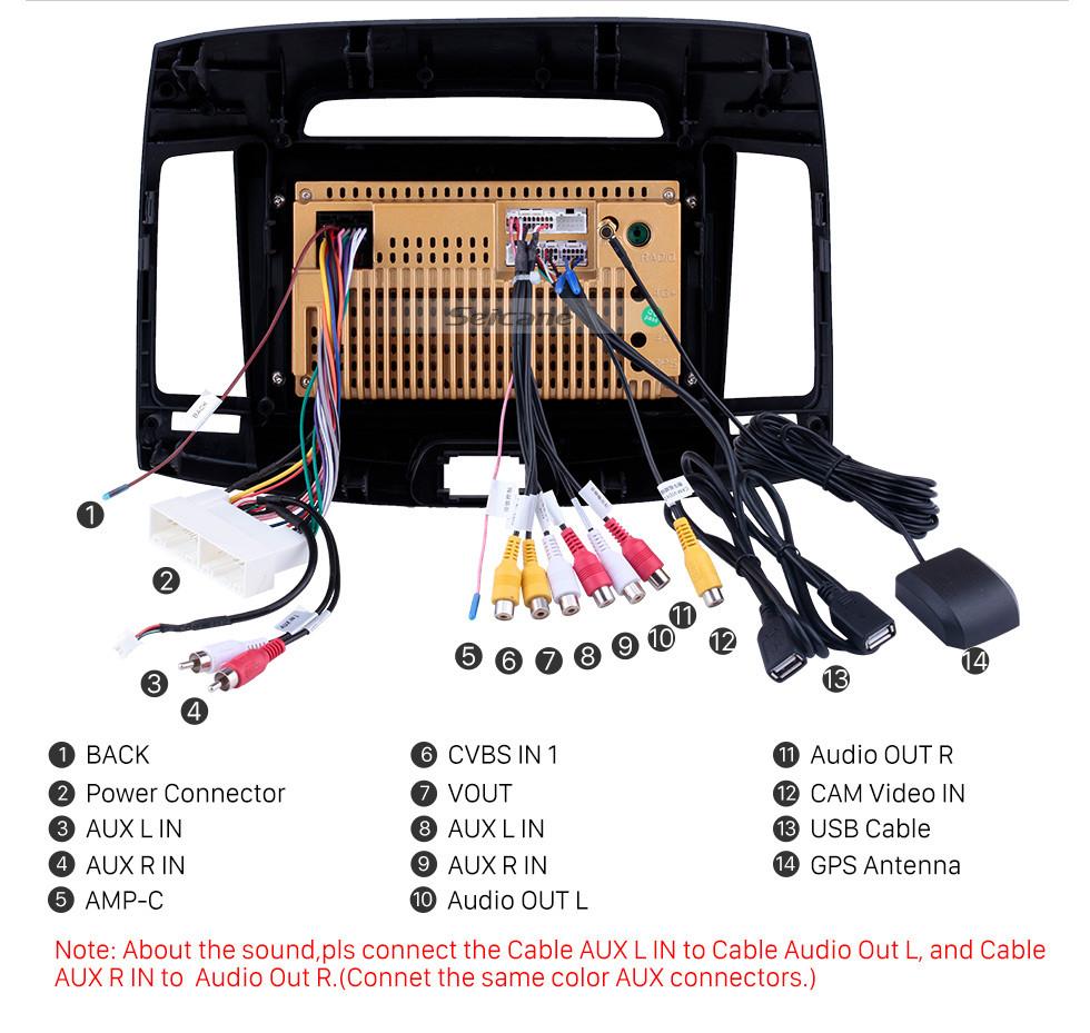 Seicane Radio con navegación GPS Android 10.0 de 9 pulgadas con pantalla táctil para 2007-2011 Hyundai Elantra con Bluetooth USB WIFI Soporte de música Cámara de copia de seguridad Carplay SWC 3G