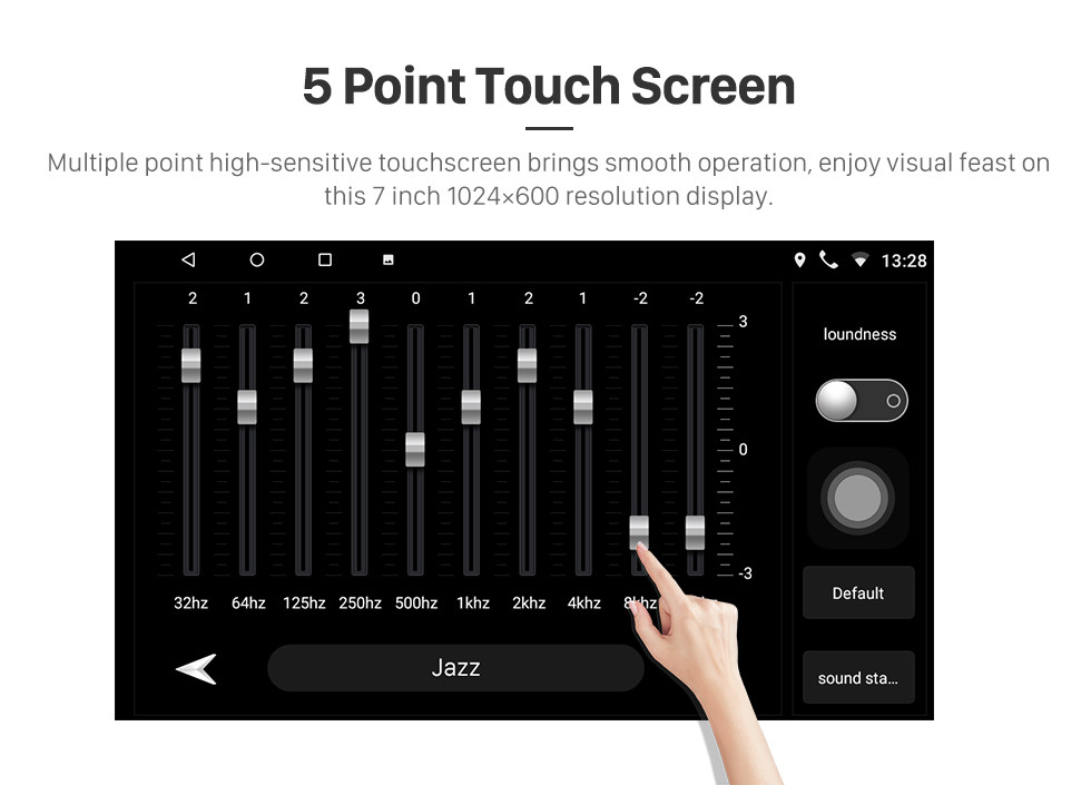 Seicane 7 inch HD Touchscreen Android 10.0 GPS Navigation Car Radio for TOYOTA COROLLA Camry Land Cruiser HILUX PRADO RAV4 Support 1080P Video Bluetooth Mirror Link WIFI USB SD DVR Rearview Camera