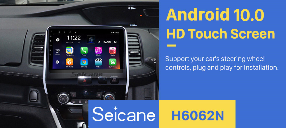 Seicane 2016 2017 2018 Nissan Serena RHD 10.1 pouces HD Écran Tactile Android 10.0 Système de Navigation GPS Unité principale Bluetooth Wifi auto Radio 3G WIFI USB support Carplay DVR TPMS