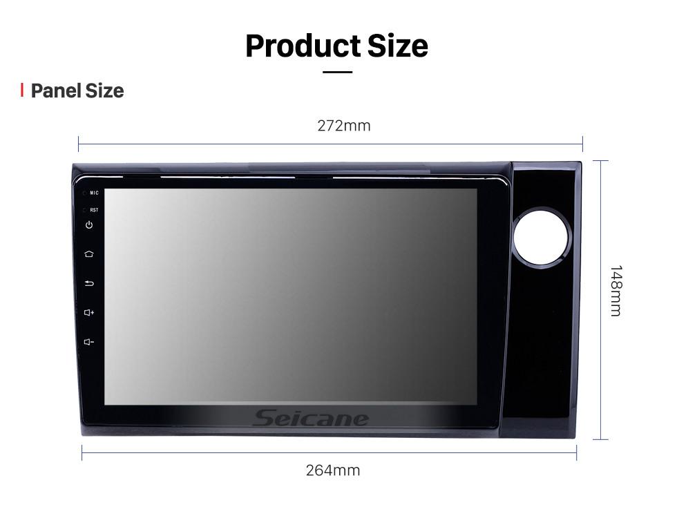 Seicane OEM 9 inch Android 10.0 Radio for 2015-2017 Honda BRV RHD Bluetooth HD Touchscreen GPS Navigation support Carplay Rear camera