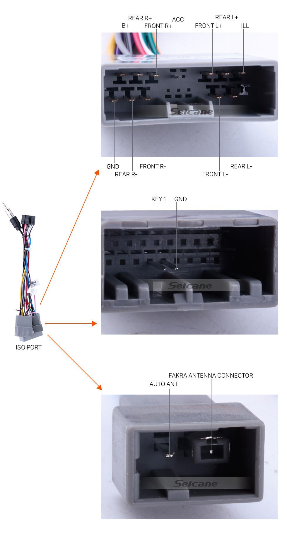 Seicane 10,1 pouces 1024 * 600 HD écran tactile Android 8.1 Radio de navigation GPS pour 2006-2011 Honda Civic (LHD) avec Bluetooth WIFI OBD2 USB Audio Aux 1080p caméra de recul
