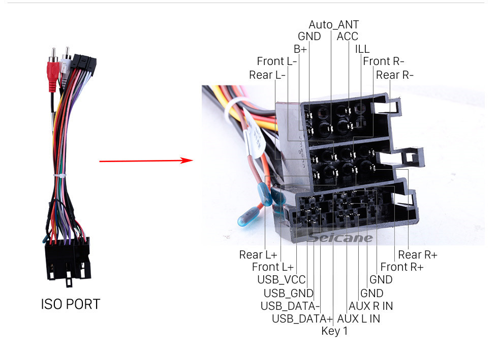 Seicane 2007-2017 KIA Sportage Auto A/C Android 10.0 Bluetooth Radio GPS Navi system auto stereo with WIFI AUX FM USB support DVR Backup Camera TPMS OBD2 3G