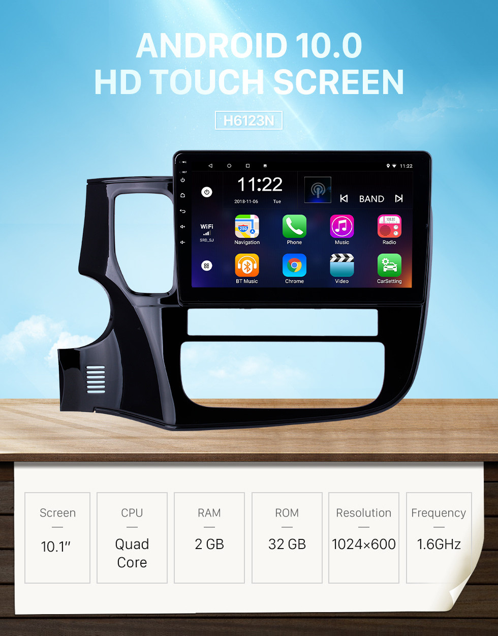 Seicane 9 Inch OEM Android 10.0 Radio GPS Navigation system For 1998-2005 Mercedes Benz S Class W220 S280 S320 S350 S400 S430 S500 S600 S55 AMG  S63 AMG S65 AMG with Bluetooth HD Touch Screen TPMS DVR OBD II Rear camera AUX 3G WiFi
