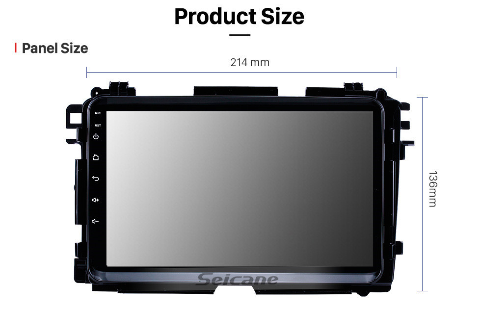 Seicane 2015 2016 2017 HONDA Vezel XRV 9 inch Android 10.0 Radio GPS Navigation system with USB WIFI Bluetooth support Mirror Link OBD2 Steering Wheel Control
