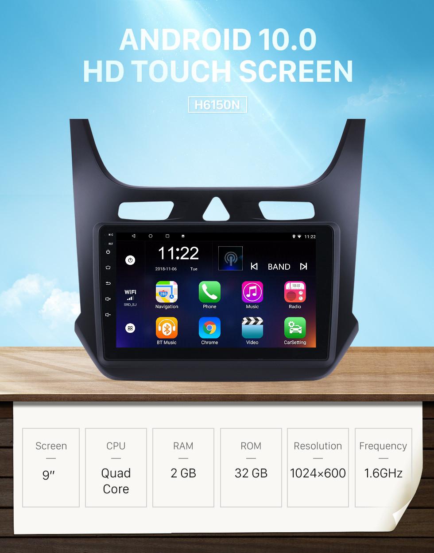 Seicane Android 10.0 9-Zoll-Touchscreen-GPS-Navigationsradio für 2017 2017 chevy Chevrolet-Kobalt mit USB-WIFI-Bluetooth-Unterstützung Carplay Digital TV