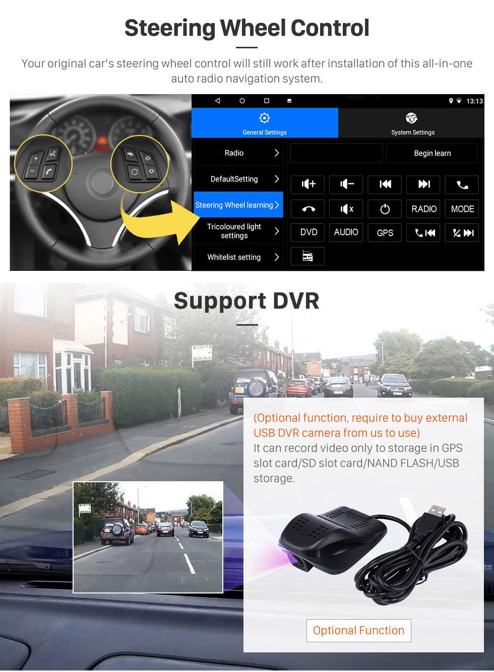 Seicane 2010-2015 TOYOTA REIZ Mark X 9 inch Android 10.0 HD Touchscreen Bluetooth Radio GPS Navigation Stereo USB AUX support Carplay 3G WIFI Mirror Link