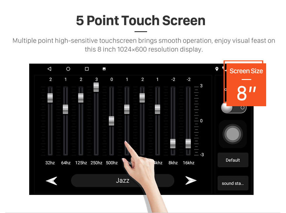 Seicane 8 inch Android 10.0 HD Touchscreen GPS Navigation Radio for 2017 2018 2019 Toyota Corolla with Bluetooth USB WIFI support Steering Wheel Control Carplay
