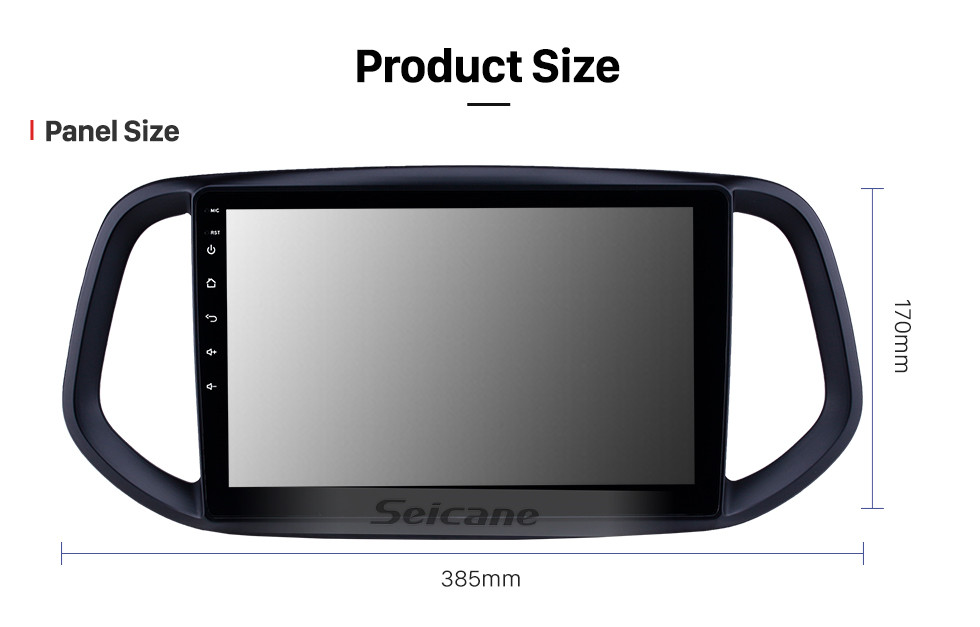 Seicane 10.1 inch Android 10.0 2014 2015 2016 2017 Kia KX3 GPS Navigation Radio with Bluetooth HD Touchscreen WIFI Music support TPMS DVR Carplay Digital TV