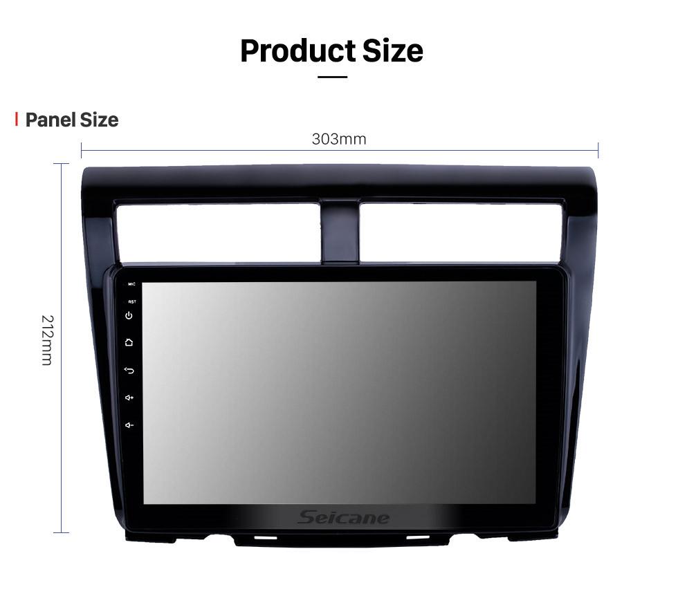 Seicane 10.1 polegada android 10.0 hd touchscreen gps rádio de navegação para 2012 proton myvi com bluetooth usb wi-fi apoio AUX Carplay SWC TPMS espelho Link