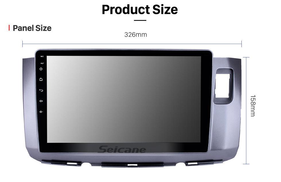 Seicane 10.1 pulgadas Android 10.0 Radio de navegación GPS para 2010 Perodua Alza con pantalla táctil HD Bluetooth USB WIFI AUX, soporte Carplay SWC TPMS