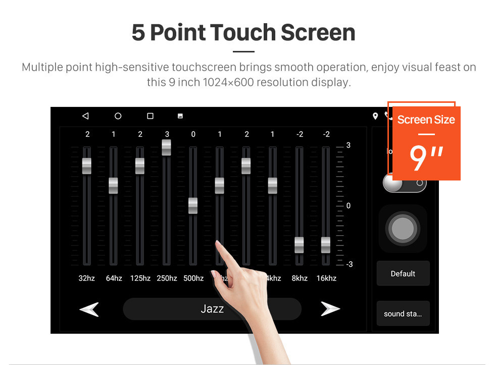 Seicane Android 10.0 9 inch Touchscreen GPS Navigation Radio for 2002 Toyota Vios with Bluetooth USB WIFI support Carplay SWC Rear camera OBD2 DAB+