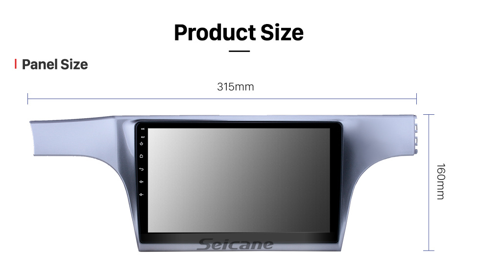 Seicane 10.1 inch Android 10.0 HD Touchscreen GPS Navigation Radio for 2012-2015 VW Volkswagen Lavida with Bluetooth support Carplay Mirror Link