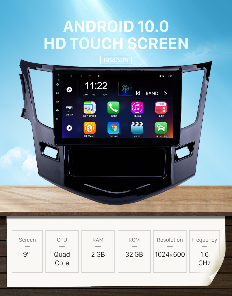 Seicane HD Touchscreen 9 inch Android 10.0 GPS Navigation Radio for 2012-2016 BYD Surui with Bluetooth AUX WIFI support Carplay TPMS DAB+