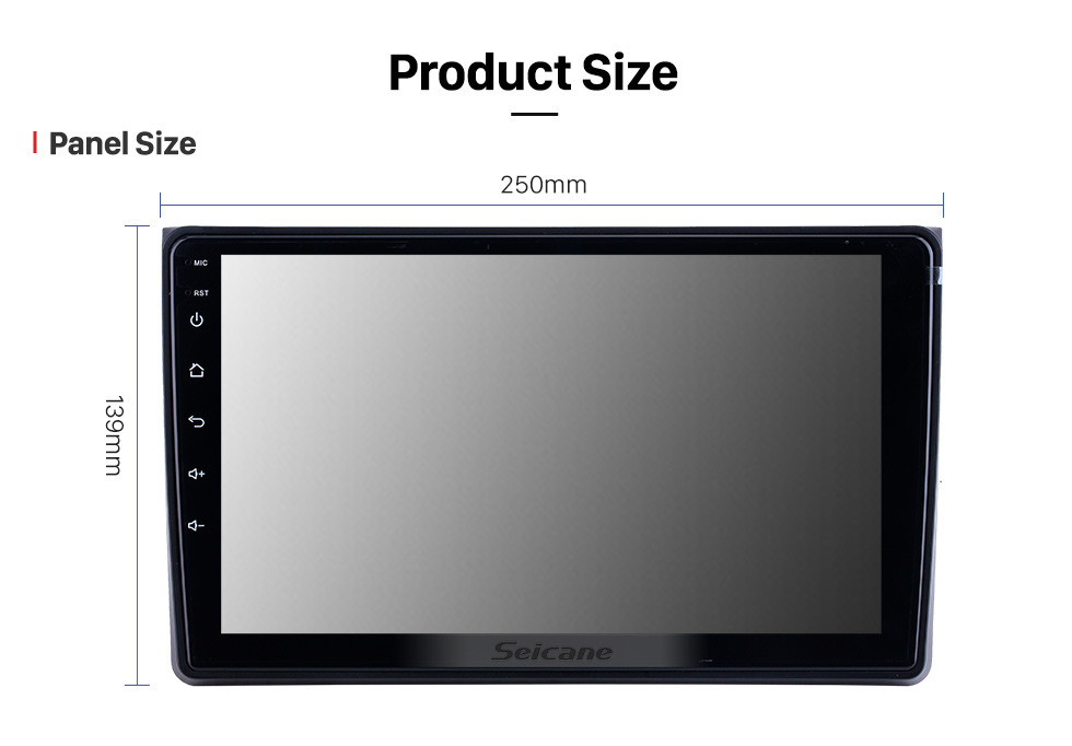 Seicane 9 inch Android 10.0 for 2002 2003 2004-2008 Audi A4 Radio With HD Touchscreen GPS Navigation Bluetooth support Carplay DAB+ TPMS