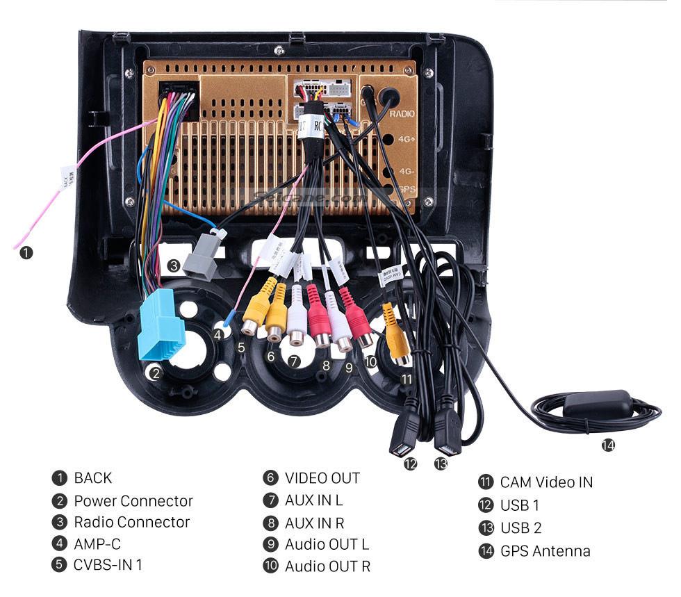 Seicane Pantalla táctil de 9 pulgadas Android 10.0 GPS Navi Radio para 2004-2007 HONDA Jazz / FIT (Manual AC, LHD) 2006 2007 CITY 2011-2019 EVERUS S1 Bluetooth WIFI Mirror Link USB