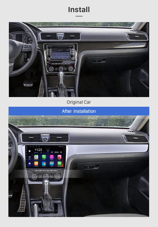 Seicane 10.1 inch Android 10.0 2012 VW Volkswagen Passat Radio with 3G Wifi Bluetooth Mirror Link Touchscreen Steering Wheel Control