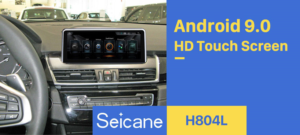 Seicane OEM 8.8 inch Android 9.0 for BMW 2 Series F22/F45 MPV(2013-2016) NBT Radio Bluetooth HD Touchscreen GPS Navigation System support Carplay DAB+