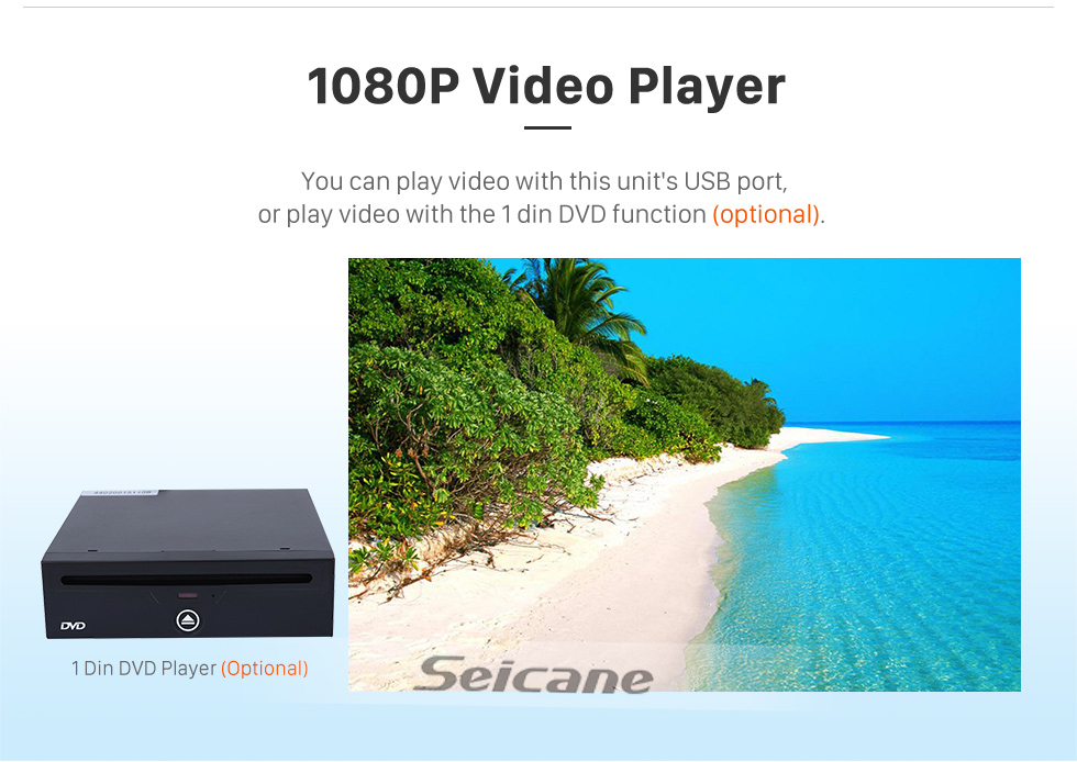 Seicane 10.25 pouces Android 9.0 HD Radio de navigation GPS à écran tactile pour BMW Série 5 F10 / F11 (2013-2016) NBT avec prise en charge Bluetooth SWC Carplay 1080P