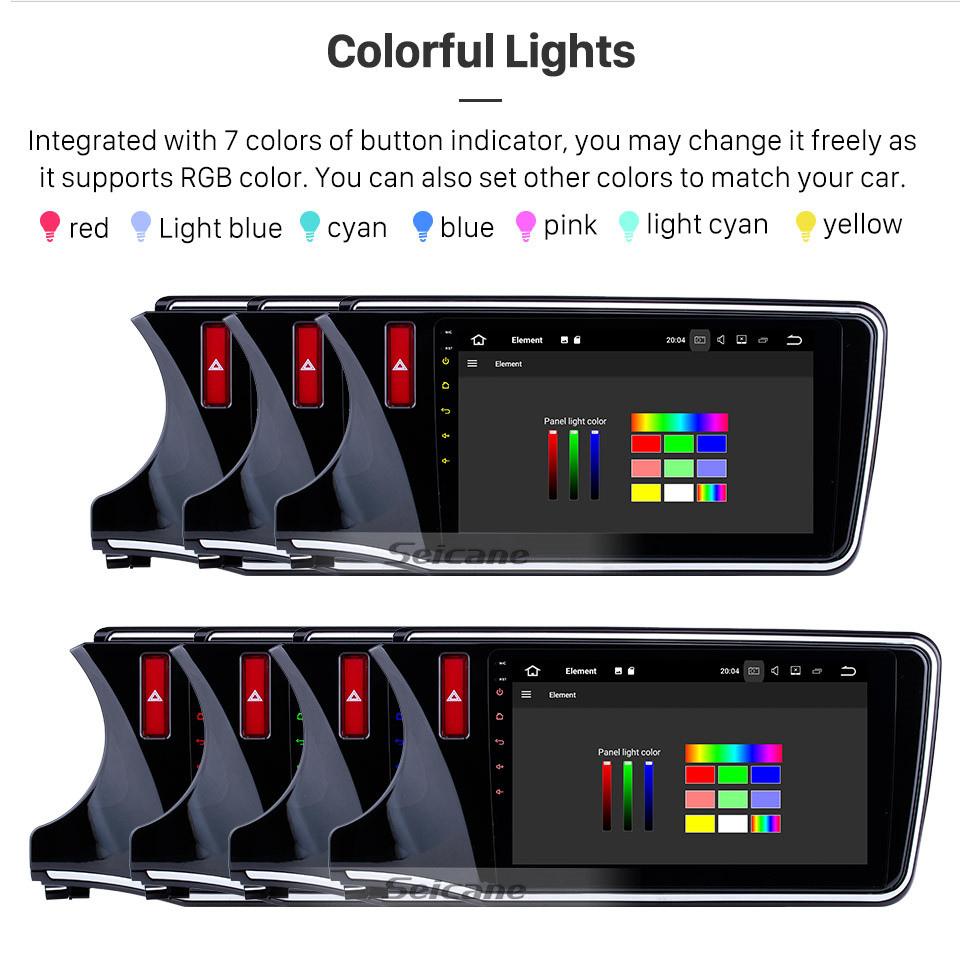 Seicane 10,1 Zoll Android 10.0 für 2014-2017 Honda City LHD HD Touchscreen Radio GPS Navigation Bluetooth WIFI USB Spiegel Link Aux Rückfahrkamera OBDII TPMS 1080P Video