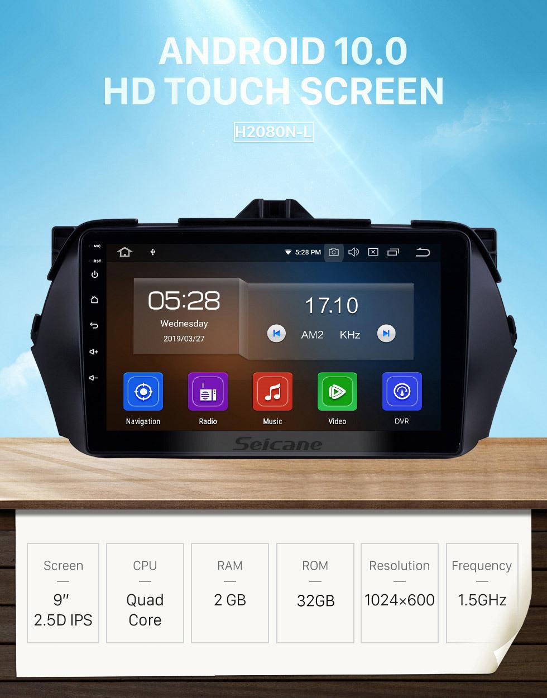 Seicane 2016 Suzuki Alivio Android 10.0 HD touchscreen Radio DVD player GPS navigation system Bluetooth Support Mirror link OBD2 DVR TV 4G WIFI Steering Wheel Control USB