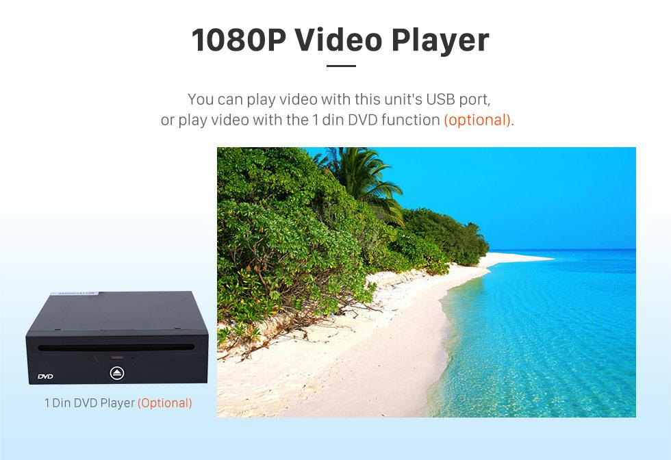 Seicane OEM 9 inch Android 10.0 2014-2015 Hyundai Elantra Radio Upgrade with DVD GPS Stereo Bluetooth Mirror Link OBD2 AUX 3G WiFi DVR