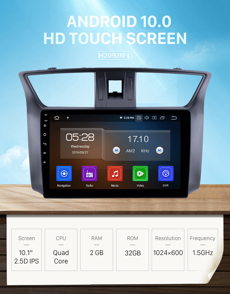 Seicane 10.1 Inch HD Touchscreen GPS Navigation System Head Unit android 10.0 2012-2016 Nissan Slyphy Bluetooth Radio Car Stereo Music Support 4G WIFI OBD2 Rearview Camera Steering Wheel Control
