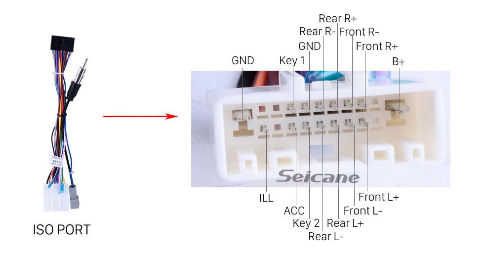 Seicane 2013-2016 Nissan LIVINA (LHD) Android 10.0 HD Touchscreen 10.1 inch Bluetooth Radio GPS Navigation USB WIFI Steering Wheel Control DVD Player 4G TPMS DVR Quad-core
