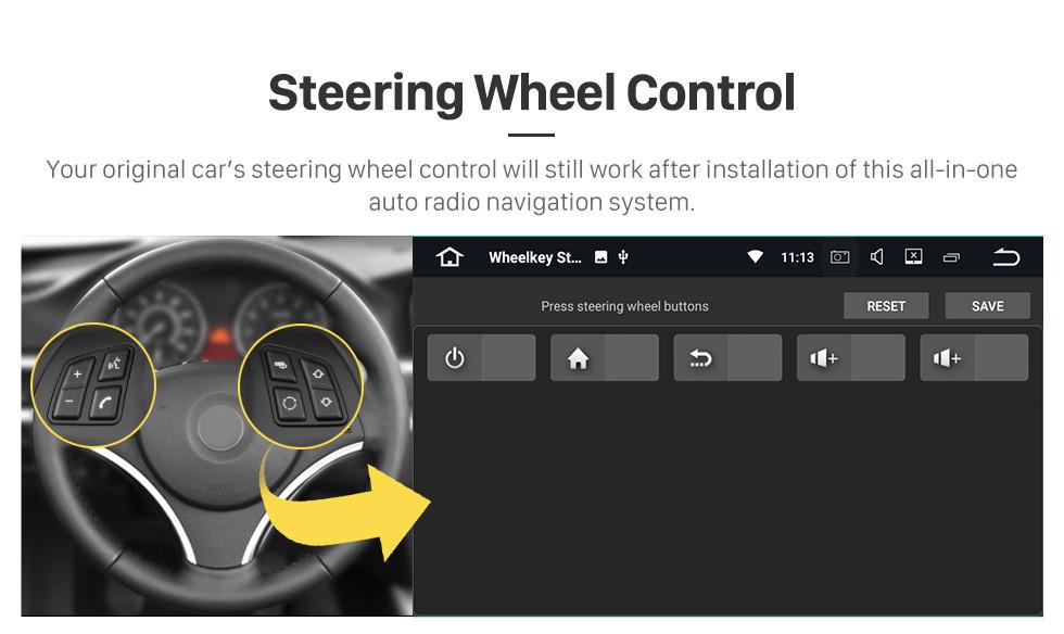Seicane 2016 Hyundai Elantra LHD Aftermarket Android 10.0 9 inch GPS Navigation Radio Bluetooth Multimedia Player Carplay Music AUX support Backup camera 1080P