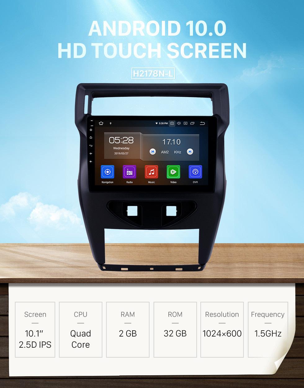 Seicane 2012 Citroen C4 C-QUATRE 10.1 polegada Android 10.0 Rádio com HD Touchscreen Navegação GPS Suporte a Bluetooth AUX DVR TPMS câmera de Backup 4G WIFI OBD2