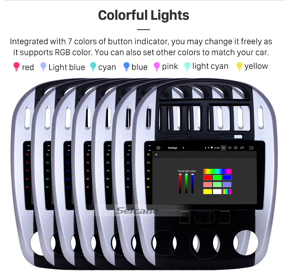 Seicane HD Touchscreen 2012-2016 Kia Cerato Android 10.0 9 inch GPS Navigation Radio Bluetooth USB Carplay WIFI AUX support DAB+ OBD2 Steering Wheel Control
