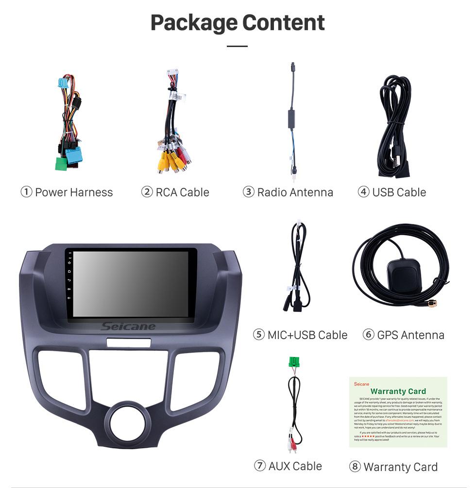 Seicane 9 inch 2004-2008 Honda Odyssey Android 10.0 GPS Navigation Radio Bluetooth HD Touchscreen AUX USB Carplay support Mirror Link