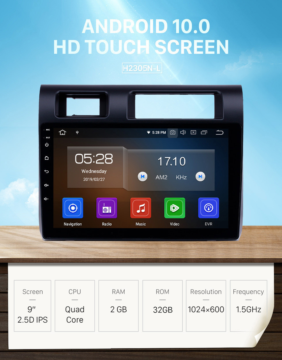 Seicane OEM 9 inch Android 10.0 Radio for 2015 Toyota Land Cruiser Bluetooth HD Touchscreen GPS Navigation Carplay support Rearview camera