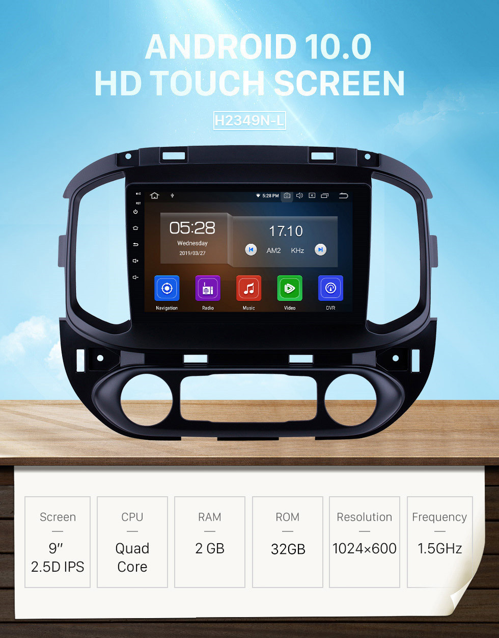 Seicane Android 10.0 9 inch GPS Navigation Radio for 2015-2017 chevy Chevrolet Colorado with HD Touchscreen Carplay Bluetooth support Digital TV