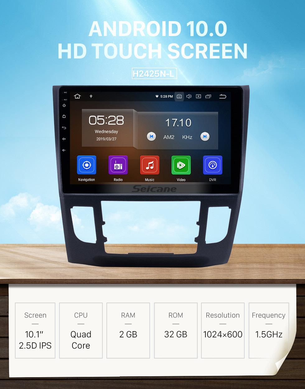 Seicane 10.1 inch 2013-2019 Honda Crider Auto A/C Android 10.0 GPS Navigation Radio Bluetooth HD Touchscreen Carplay support Mirror Link