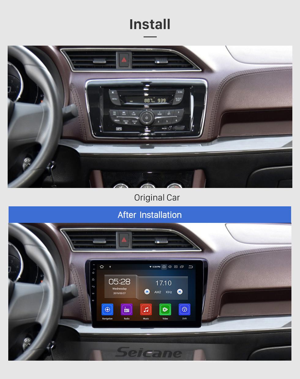 Seicane 10,1 zoll 2017-2019 Venucia M50V Android 9,0 GPS Navigationsradio Bluetooth HD Touchscreen Carplay unterstützung Spiegel Link
