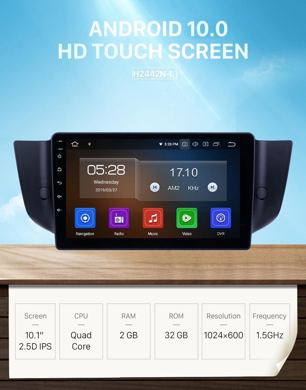 Seicane HD Touchscreen 2010-2015 MG6 / 2008-2014 Roewe 500 Android 10.0 9 Zoll GPS Navigationsradio Bluetooth AUX Carplay Unterstützung Rückfahrkamera