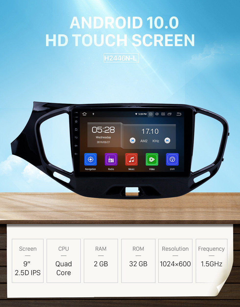 Seicane 2015-2019 Lada Vesta Cross Sport Android 10.0 9 inch GPS Navigation Radio Bluetooth HD Touchscreen USB Carplay support DVR SWC