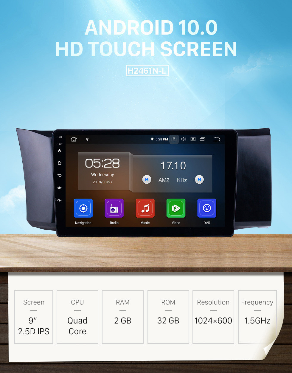 Seicane Android 10.0 For 2013-2014 Toyota 86 LHD 9 inch GPS Navigation Radio Bluetooth HD Touchscreen USB Carplay support DVR DAB+ OBD2 SWC