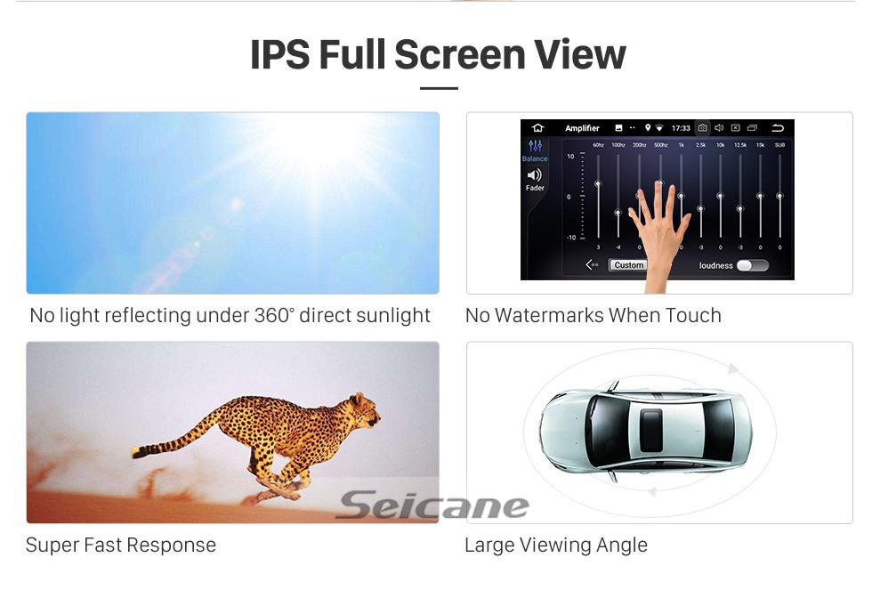 Seicane Android 10.0 для 2002-2006 2007 2008 Audi A4 Радио 9-дюймовый GPS-навигатор с сенсорным экраном HD Carplay Поддержка Bluetooth Цифровое ТВ