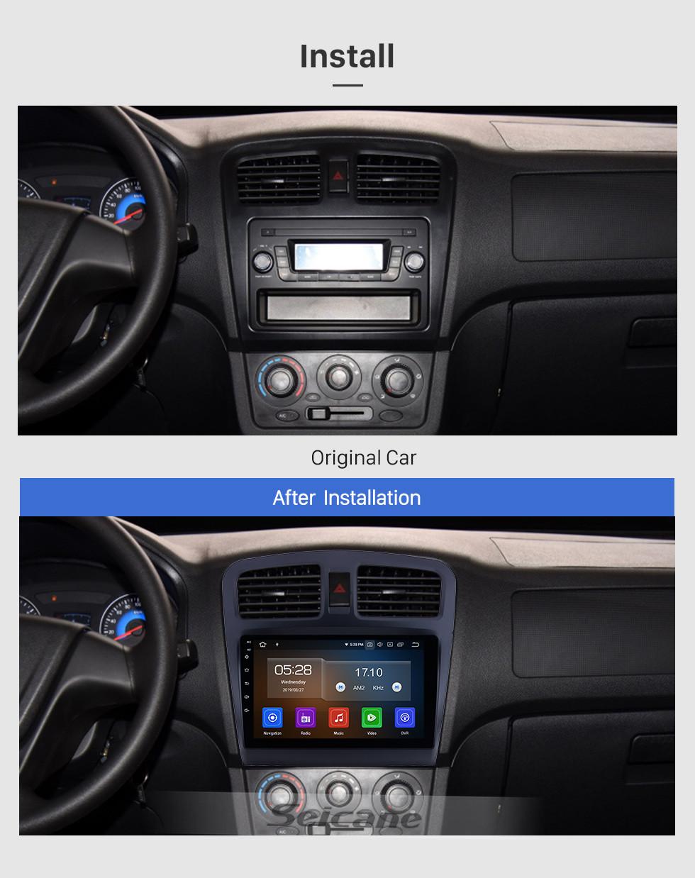 Seicane Android 10.0 para 2014 Fengon 330 Radio 9 pulgadas Navegación GPS Bluetooth WIFI HD Pantalla táctil USB Carplay soporte DVR SWC 1080P Video