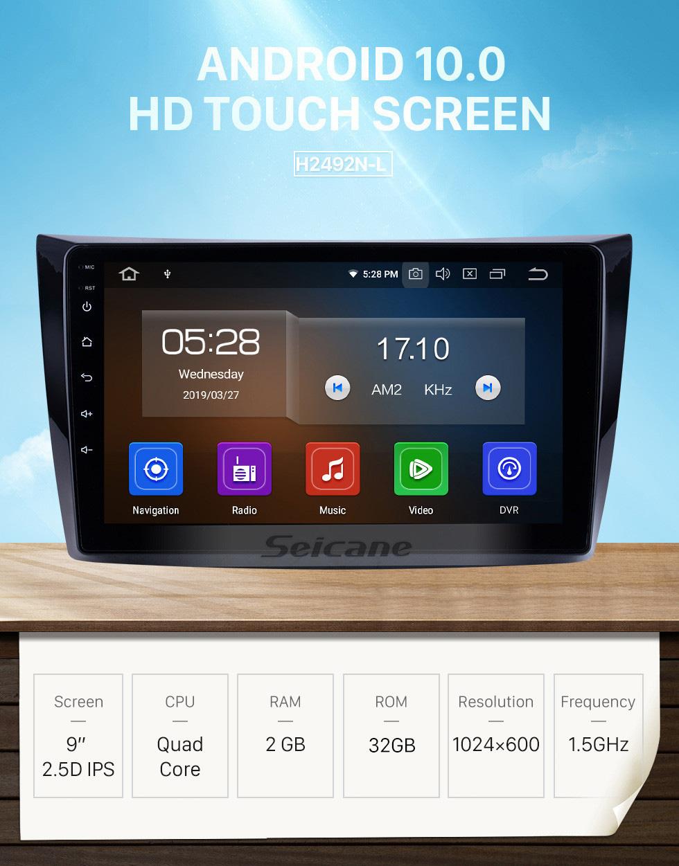 Seicane 9 polegadas Para 2011 Changan Alsvin V3 Rádio Android 10.0 Sistema de Navegação GPS Bluetooth HD Touchscreen Carplay suporte OBD2 DAB +