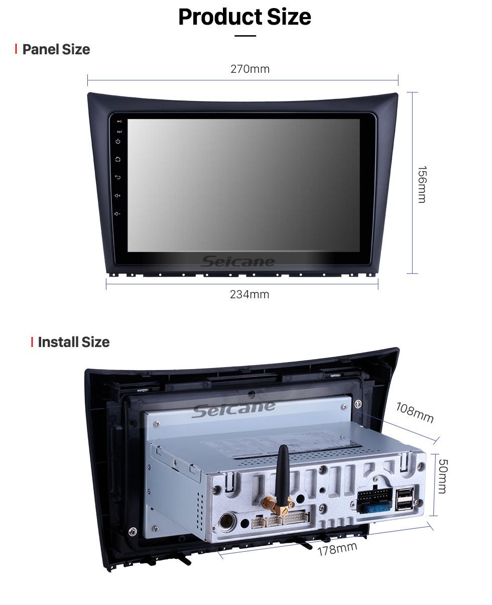 Seicane Android 10.0 für 2011 2012 2013 2014 Dong Feng Aeolus H30 Radio 9 Zoll GPS Navigationssystem Bluetooth HD Touchscreen Carplay Unterstützung SWC