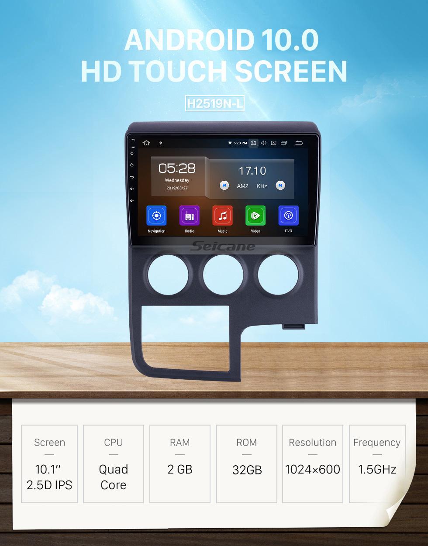 Seicane 10,1 дюймов для 2019 Toyota Hiace RHD радио Android 10.0 GPS навигационная система Bluetooth HD с сенсорным экраном Carplay поддержка цифрового телевидения