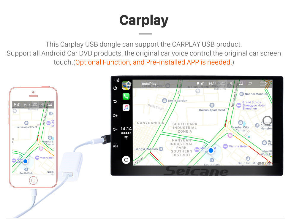 Seicane HD сенсорный экран 9 дюймов для 2018 Seat Leon Radio Android 10.0 GPS навигационная система с поддержкой AUX WIFI Bluetooth Carplay