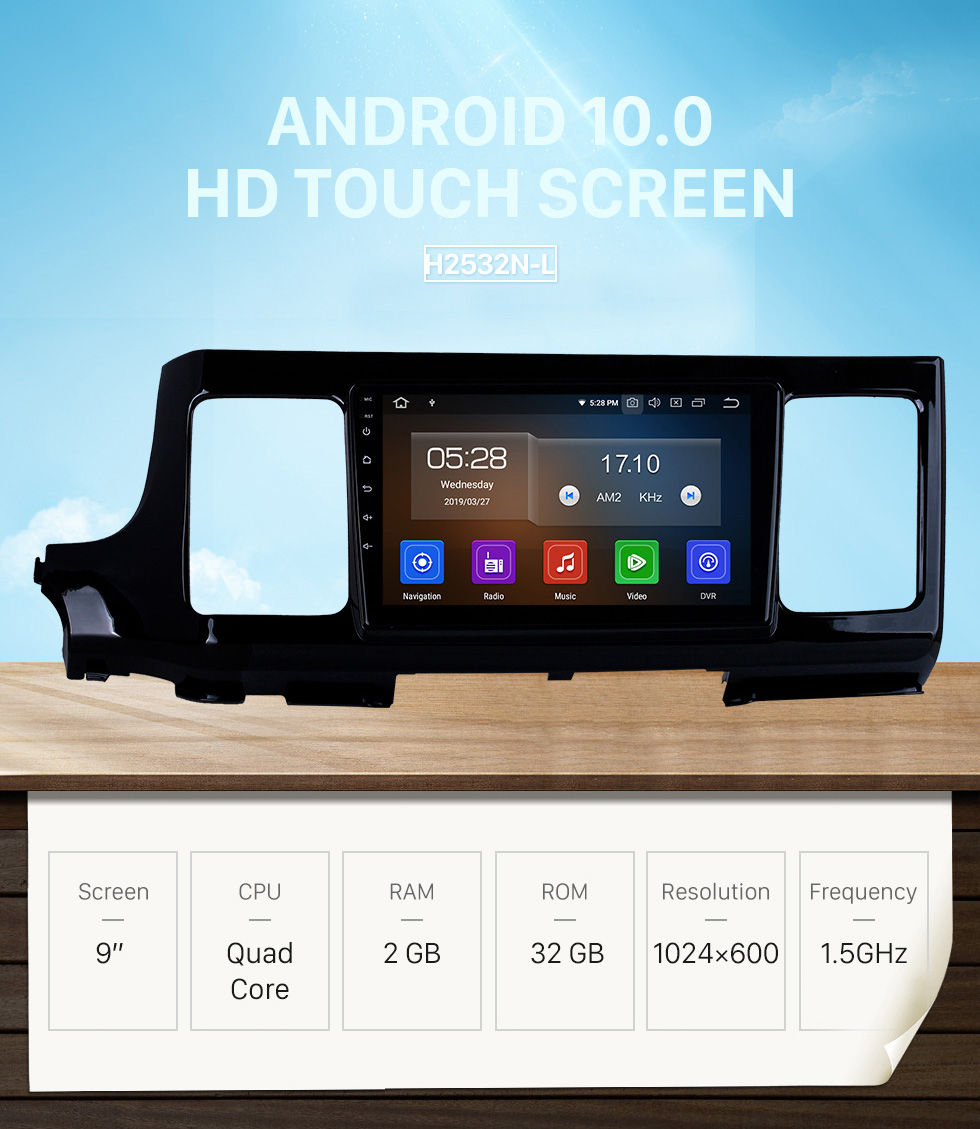 Seicane HD Touchscreen for 2018 Honda Elysion Radio Android 10.0 9 inch GPS Navigation System Bluetooth Carplay support TPMS 1080P Video