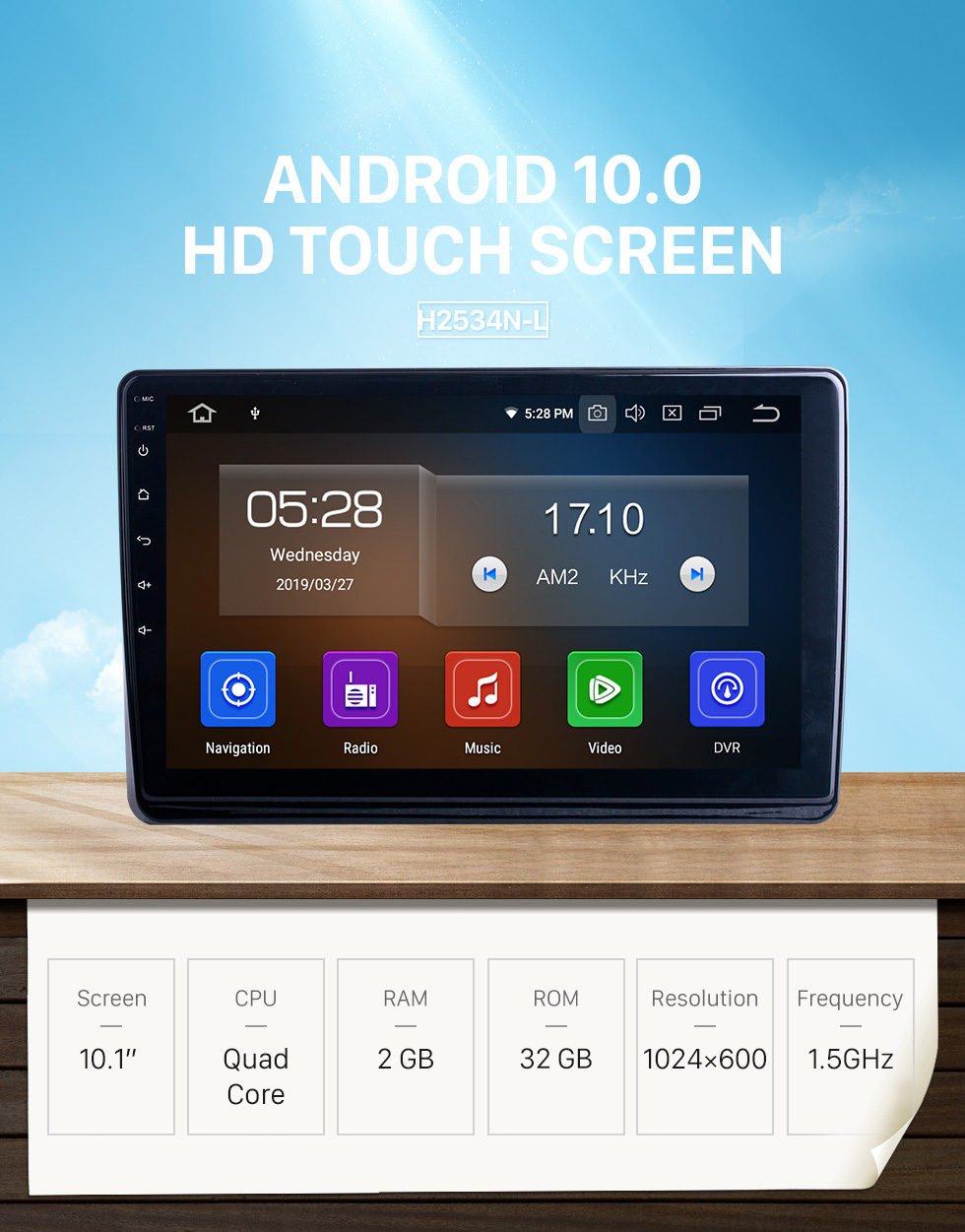 Seicane For 2019 Citroen C4L Radio 10.1 inch Android 10.0 HD Touchscreen Bluetooth with GPS Navigation System Carplay support 1080P DSP