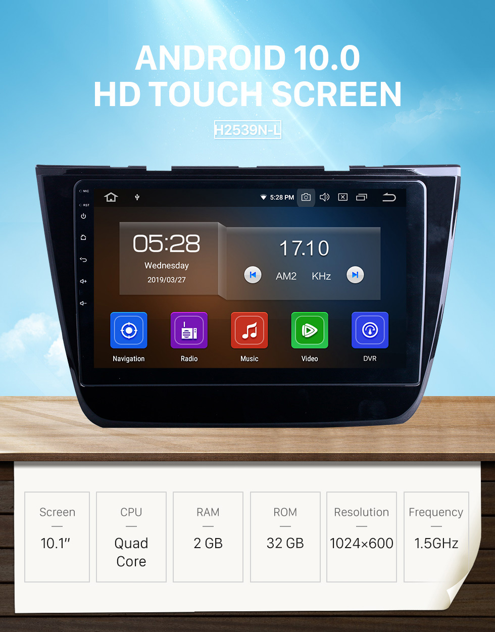 Seicane HD Touchscreen for 2017 2018 2019 2020 MG-ZS Radio Android 10.0 10.1 inch GPS Navigation System Bluetooth WIFI Carplay support DSP