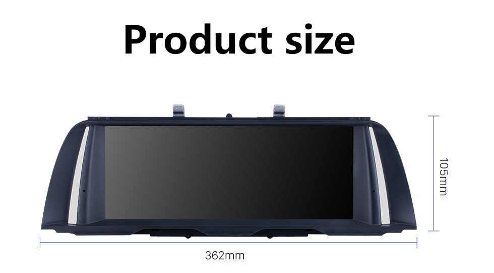 Seicane 10.25 Inch HD Touchscreen Android 10.0 2011 2012 BMW 5 Series F10/F11 CIC Car Stereo Radio Head Unit GPS Navigation Bluetooth Phone MP3 Support Steering Wheel Control WIFI Backup Camera